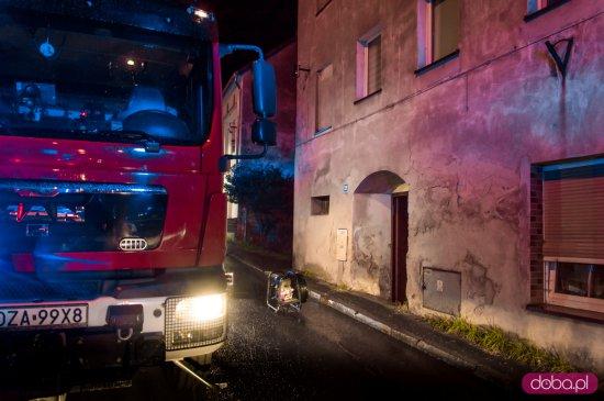 Pożar mieszkania na Bohaterów Getta w Ząbkowicach Śląskich