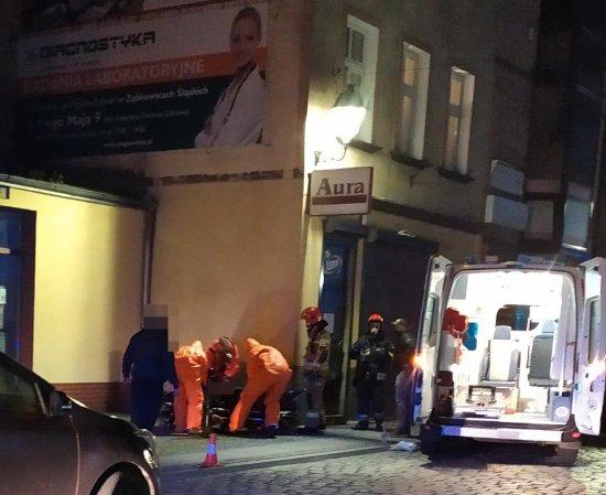 Akcja służb ratunkowych na Kościuszki w Ząbkowicach