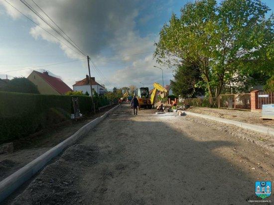 Trwa remont świetlicy w Olbrachcicach i remont Daszyńskiego w Ząbkowicach