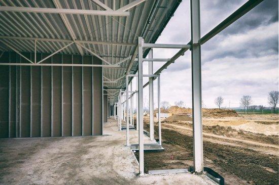 Trwa budowa Parku Handlowego