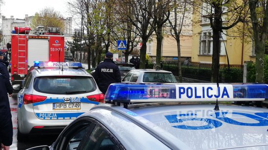 Ząbkowiccy policjanci oddali hołd zastrzelonemu koledze