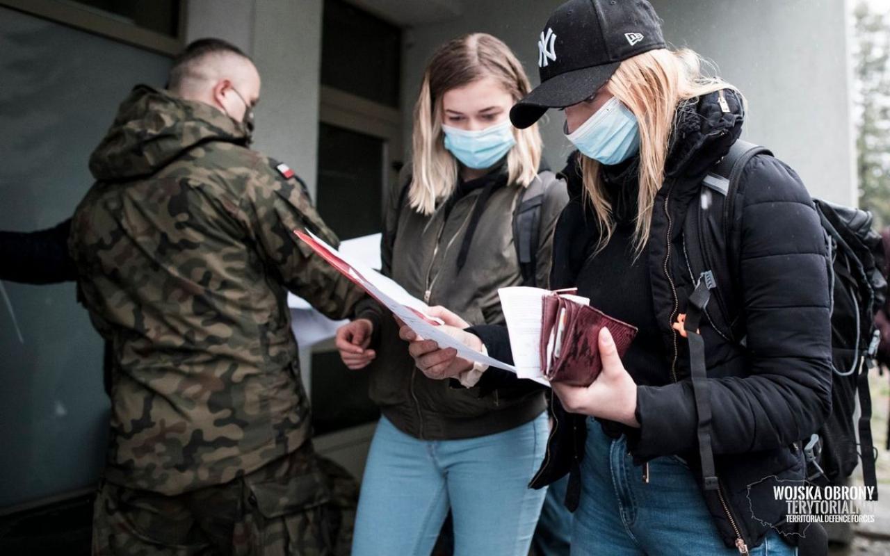 Rośniemy w siłę - kolejne pół tysiąca Polaków wstępuje w szeregi WOT