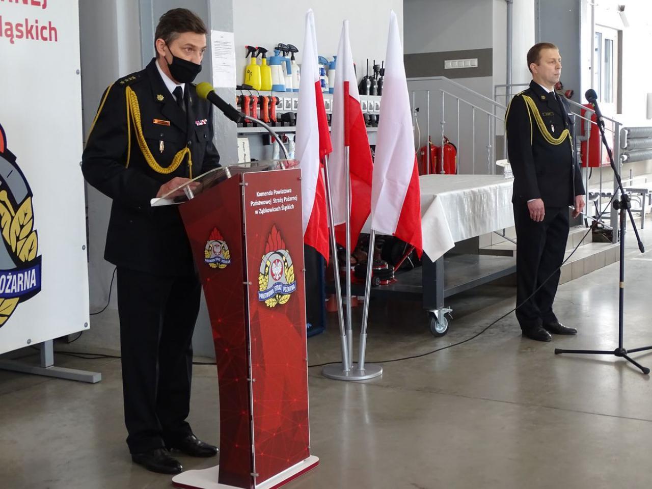 Dzień strażaka w PSP Ząbkowice Śląskie