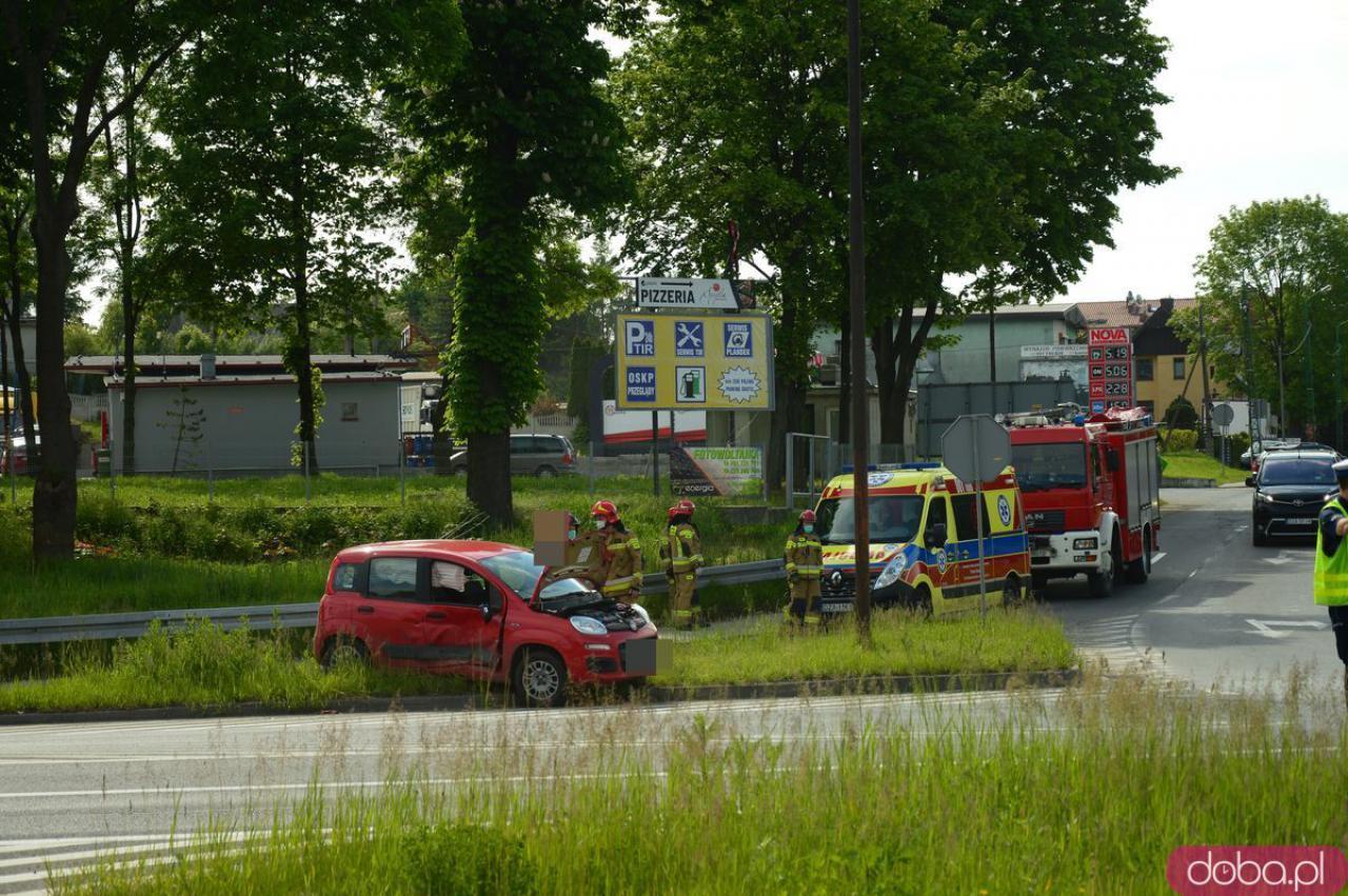 Wypadek na skrzyżowanie ósemki i Legnickiej