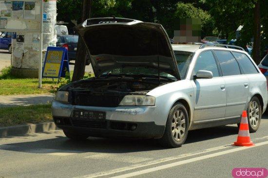 Zderzenie trzech aut na Ziębickiej