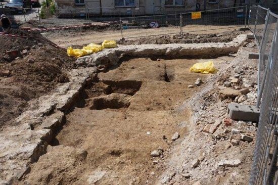 Odkrycie archeologiczne podczas przebudowy ulicy Sudeckiej w Złotym Stoku