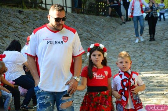 Ząbkowiczanie dopingują Polaków w Strefie Kibica