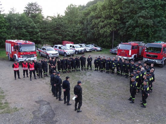 Ćwiczenia strażackie Twierdza 2021