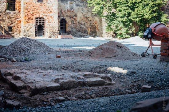 Trwa modernizacja ząbkowickiego zamku