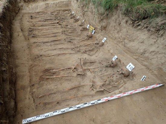 W Pomianowie Górnym odnaleziono trzy groby masowe niemieckich żołnierzy
