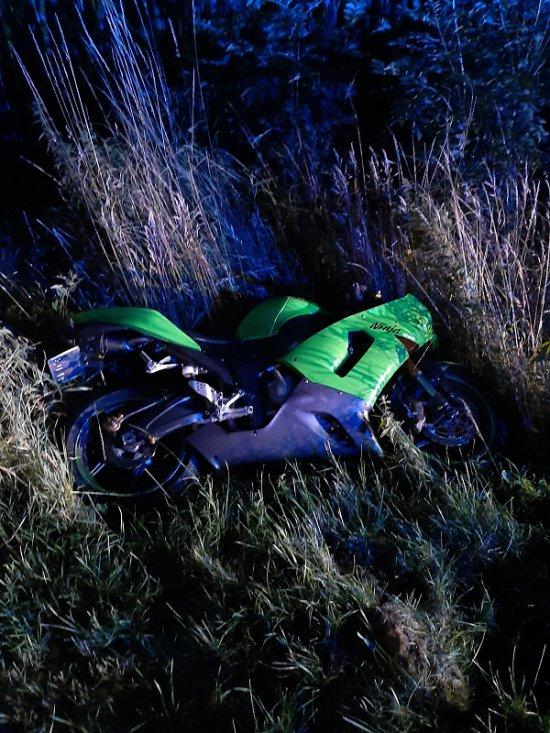 Śmiertelny wypadek motocyklisty na DW385