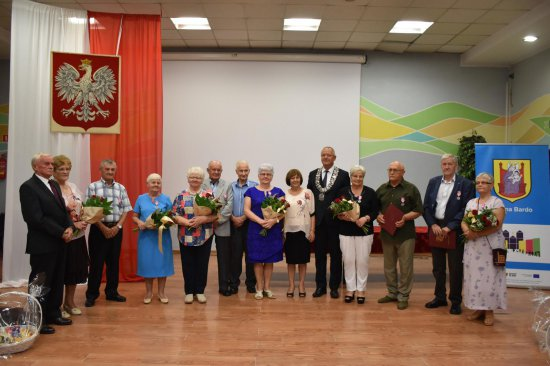 Burmistrz Barda wręczył medale za Złote Gody
