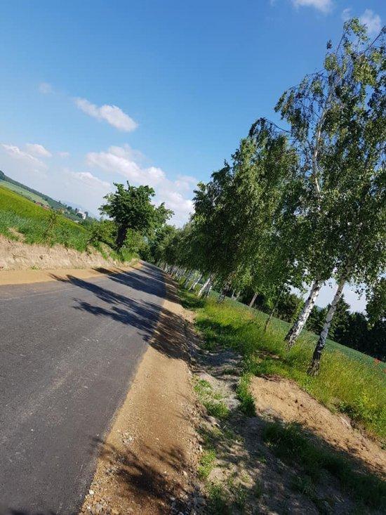 Ukończona inwestycja drogowa w Różanej