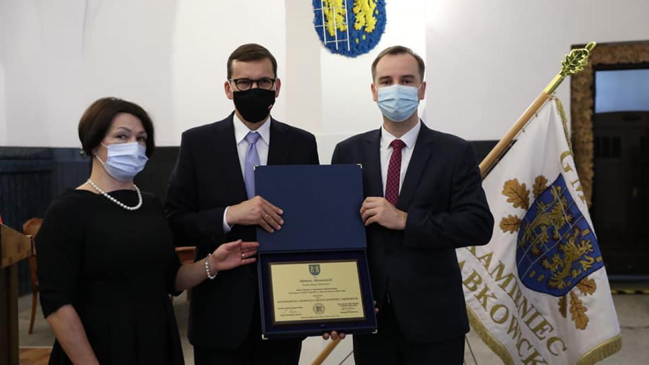 Premier w Kamieńcu Ząbkowickim