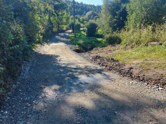 Trwa przebudowa drogi w Żdanowie