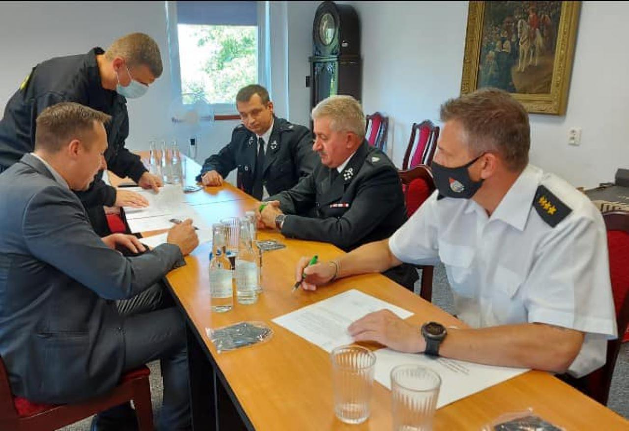 OSP Przedborowa będzie w KSRG. Podpisano porozumienie