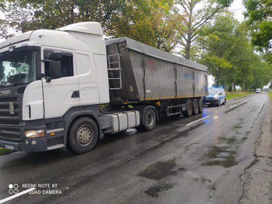 Kierował ciężarówką mając niemal 1,5 promila