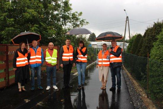 Kolejne inwestycje drogowe w gminie Stoszowice zakończone