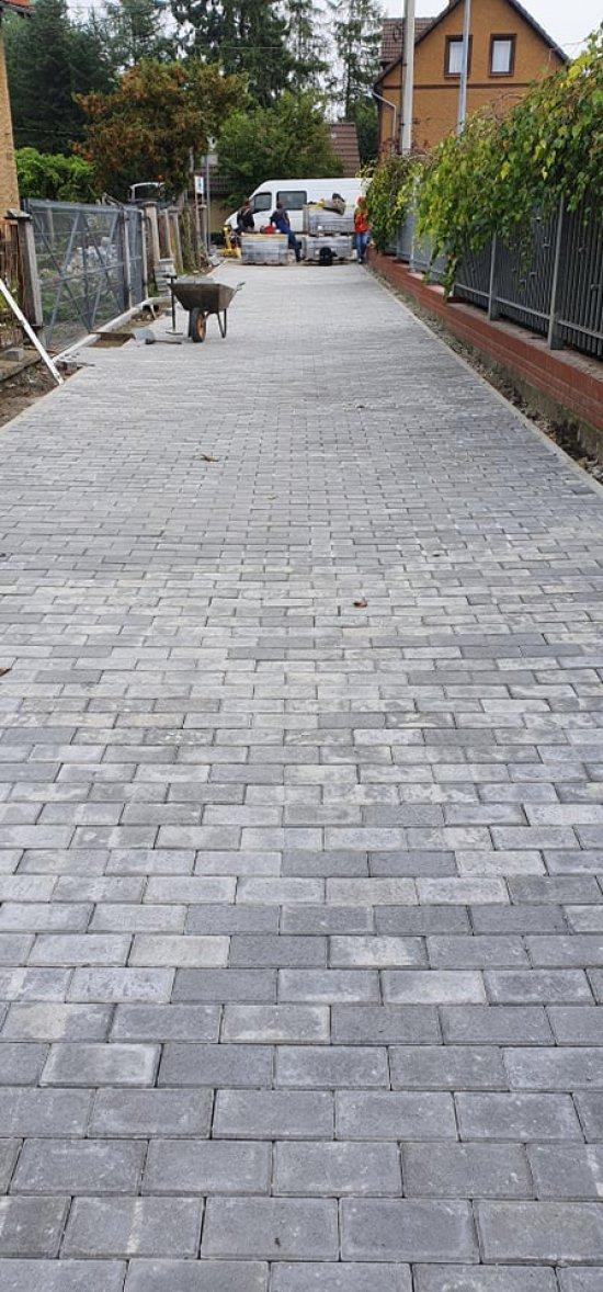 Postęp prac remontowych przy ul. Wałowej i Łąkowej w Ziębicach