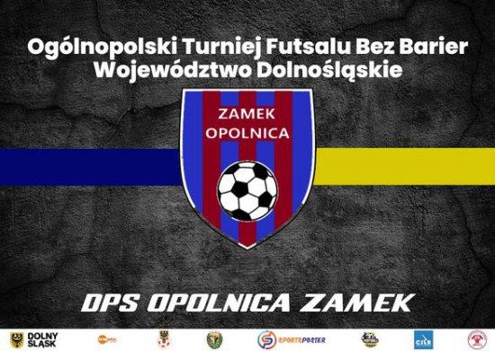 """ZAMEK"" Opolnica Mistrzem Polski Futsalu Bez Barier 2021!"