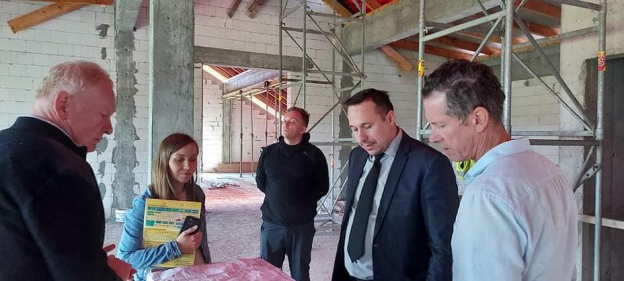 Budowie inkubatora przedsiębiorczości w Budzowie budzi zainteresowanie mieszkańców i podmiotów gospodarczych